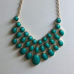 Turquoise necklace! Perfect condition!